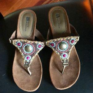 Brand New White Mountain Sandals